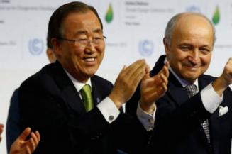Ban Ki-Moon Paris COP21