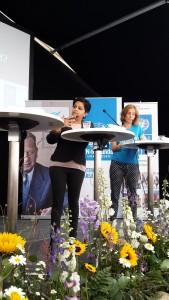 Vi är hela sveriges delegation för Agenda 2030, sa Parul Sharma, delegationens ordförande.