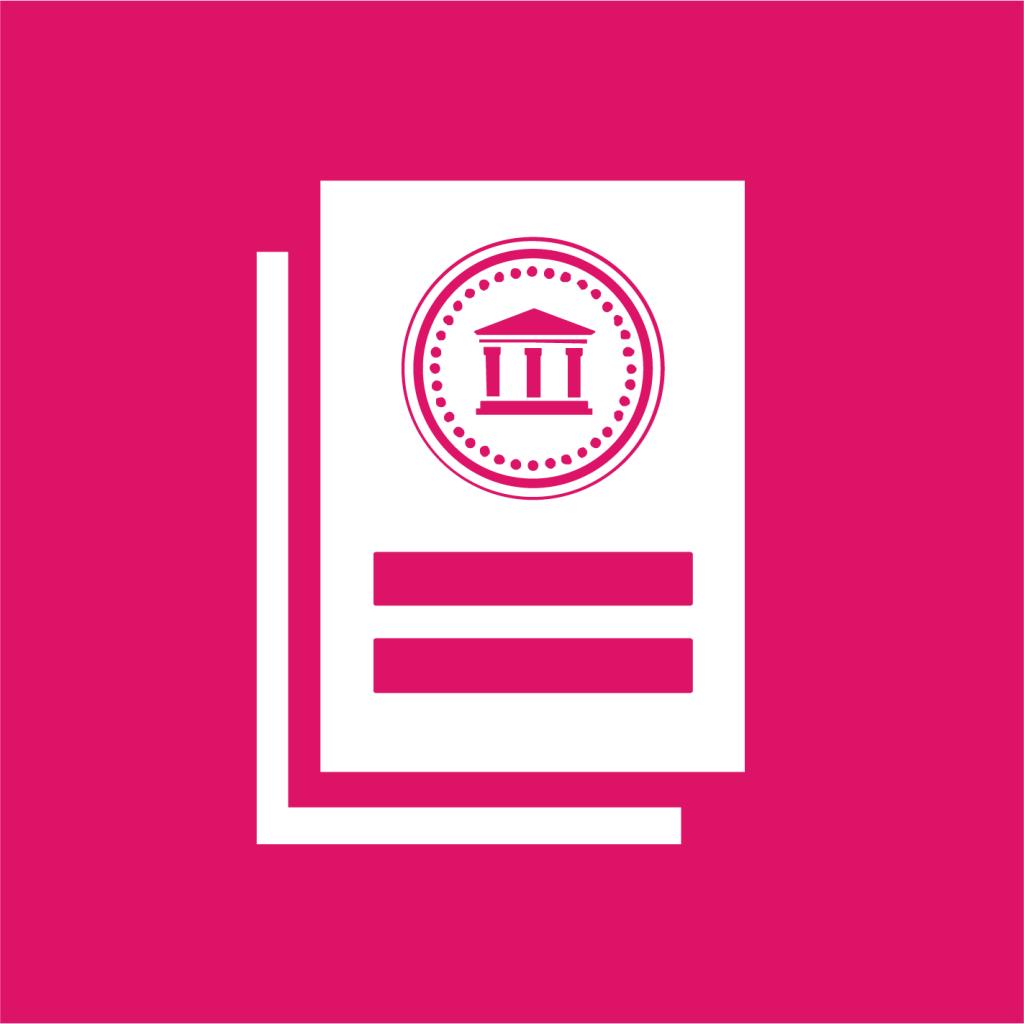 Ikon för delmål 10.5: Förbättra regleringen av globala finansmarknader och institut