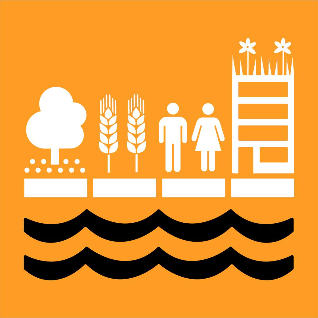 Ikon för delmål 11.5: Mildra de negativa effekterna av naturkatastrofer