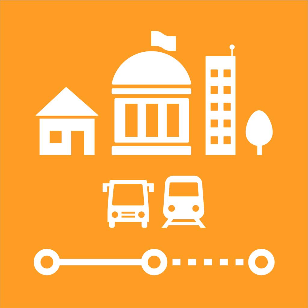 Ikon för delmål 11.A: Främja nationell och regional utvecklingsplanering