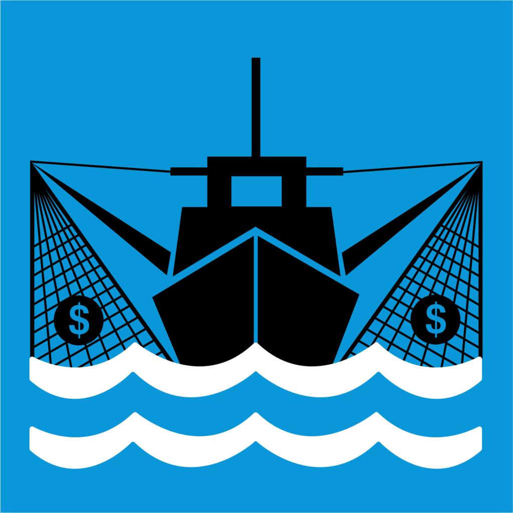 Ikon för delmål 14.6: Avskaffa subventioner som bidrar till överfiske