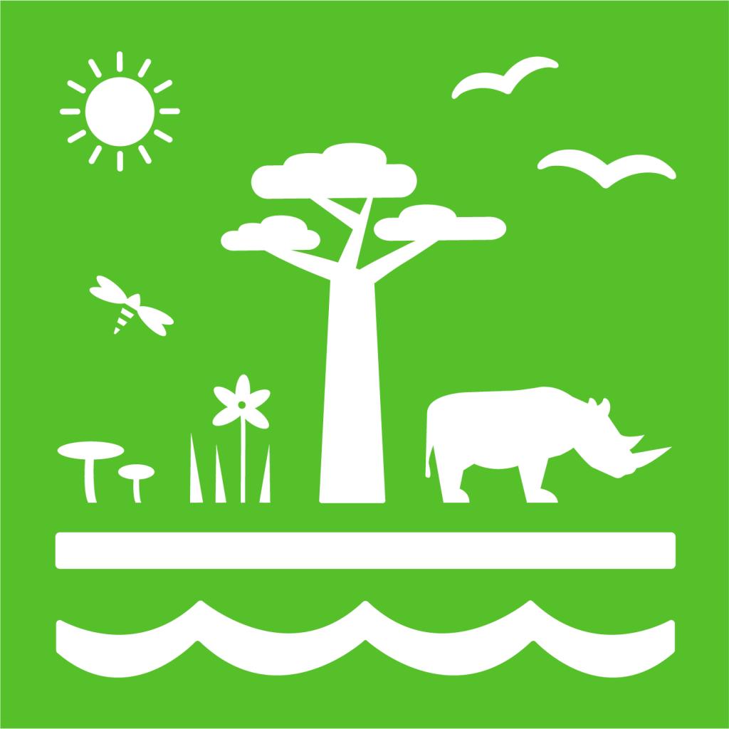 Ikon för delmål 15.5: Skydda den biologiska mångfalden och naturliga livsmiljöer