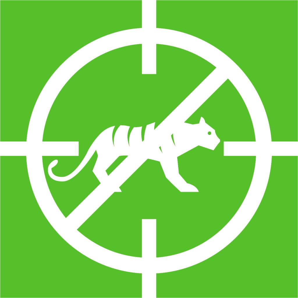 Ikon för delmål 15.7: Stoppa tjuvjakt och illegal handel med skyddade arter