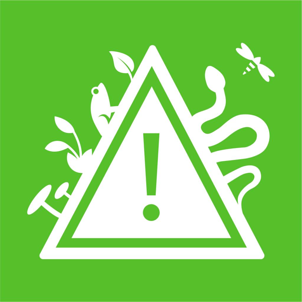 Ikon för delmål 15.8: Förhindra invasiva främmande arter i land- och vattenekosystem