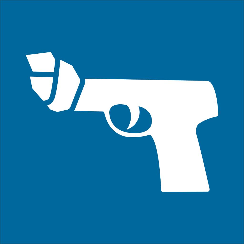 Ikon för delmål 16.1: Minska våldet i världen