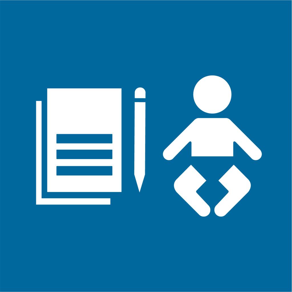 Ikon för delmål 16.9: Säkerställ juridisk identitet för alla