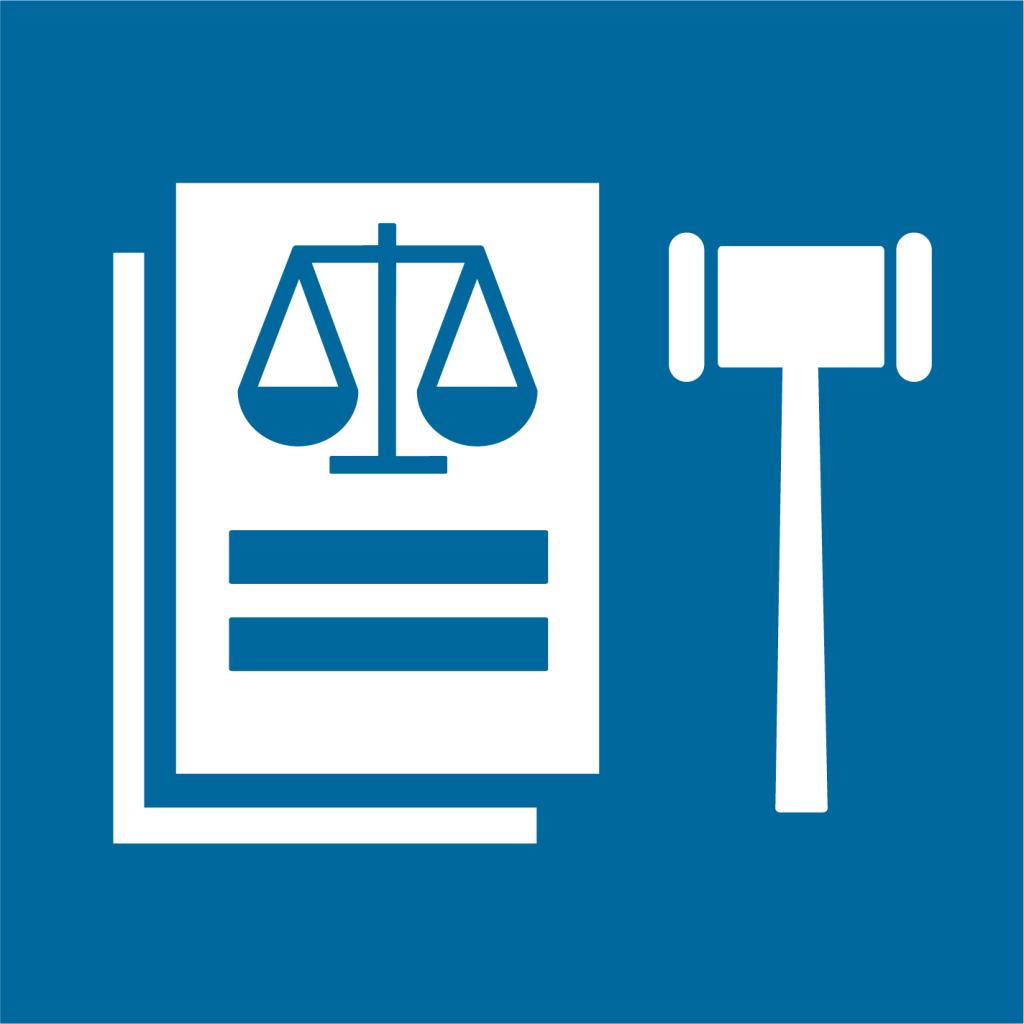 Ikon för delmål 16.B: Främja och verkställ icke-diskriminerande politik och lagstiftning