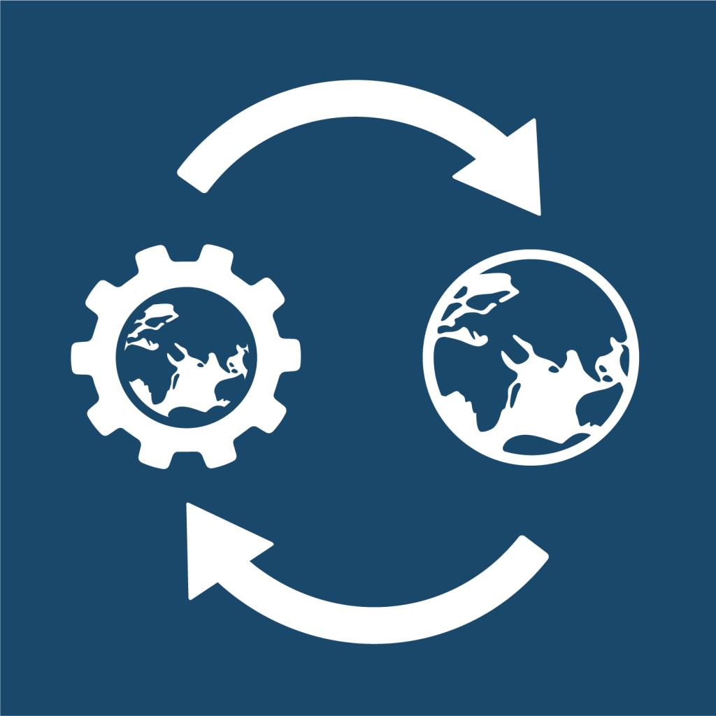 Ikon för delmål 17.12: Avveckla handelshinder för de minst utvecklade länderna