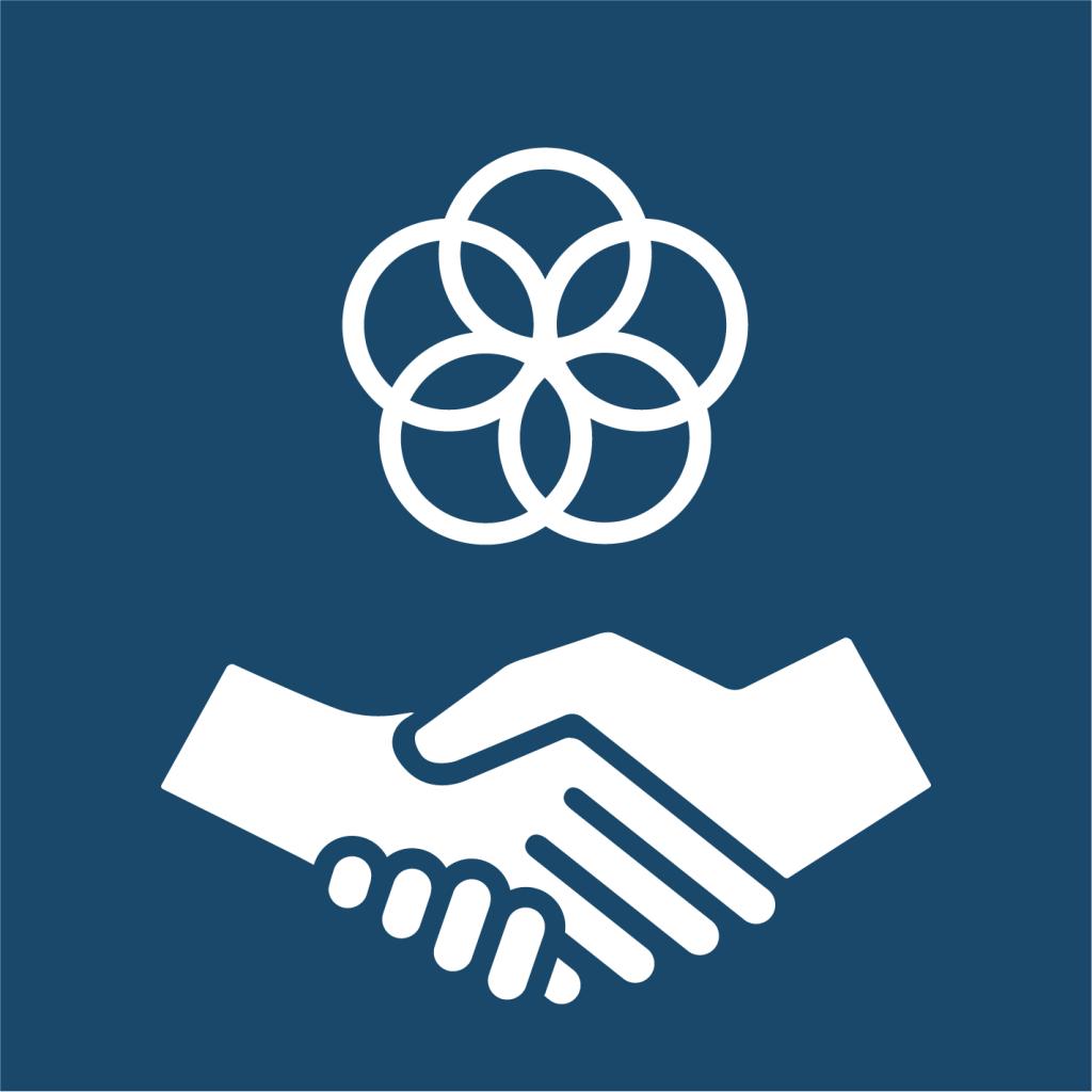 Ikon för delmål 17.17: Uppmuntra effektiva partnerskap