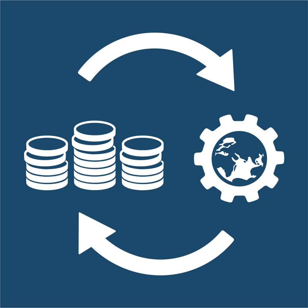 Ikon för delmål 17.5: Investera i de minst utvecklade länderna
