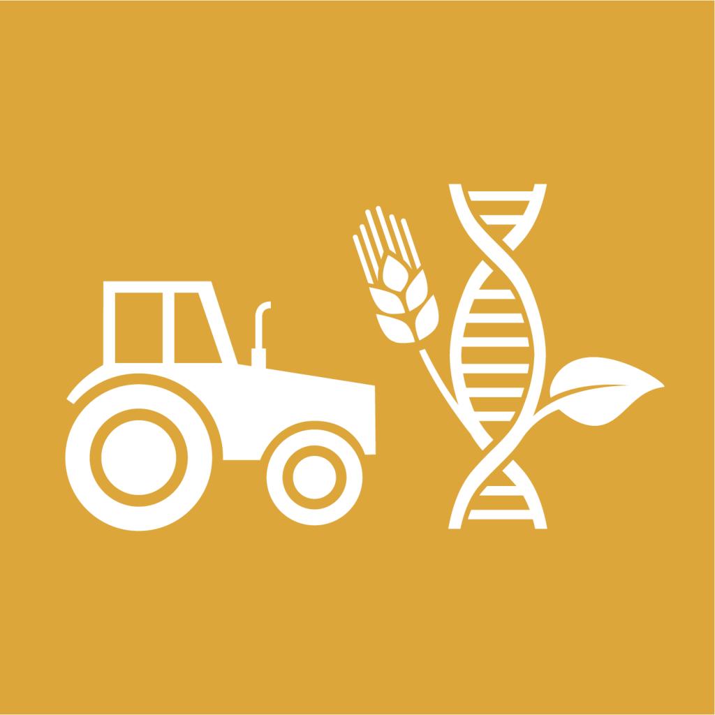 Ikon för delmål 2.A: Investera i infrastruktur på landsbygden, jordbruksforskning, teknikutveckling och genbanker