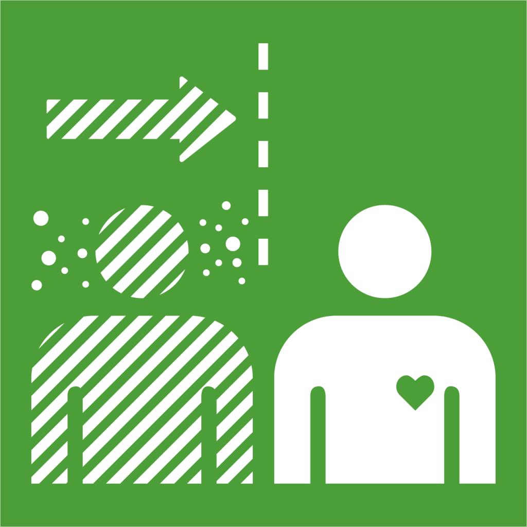 Ikon för delmål 3.3: Bekämpa smittsamma sjukdomar