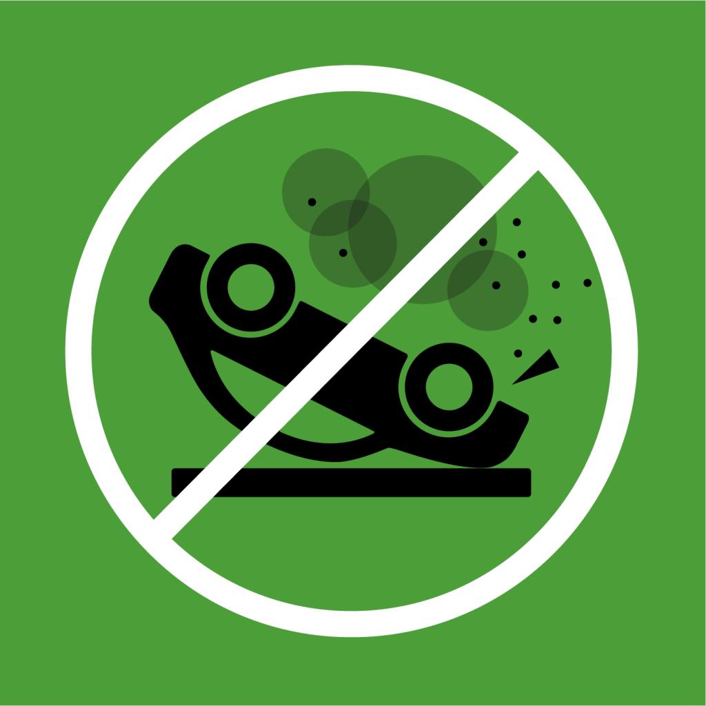 Ikon för delmål 3.6: Minska antalet dödsfall och skador i vägtrafiken