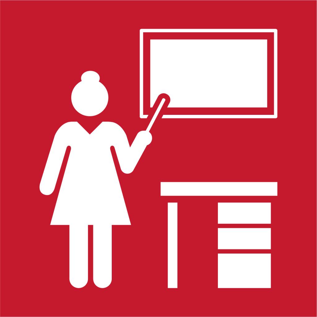 Ikon för delmål 4.C: Öka antalet utbildade lärare i utvecklingsländer