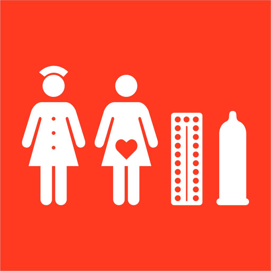 Ikon för delmål 5.6: Allmän tillgång till sexuell och reproduktiv hälsa och rättigheter