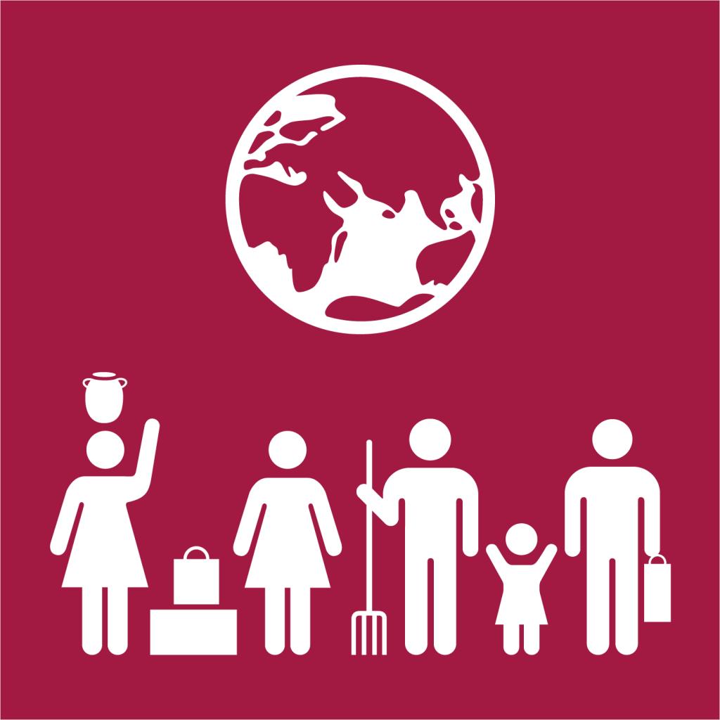 Ikon för delmål 8.9: Främja gynnsam och hållbar turism